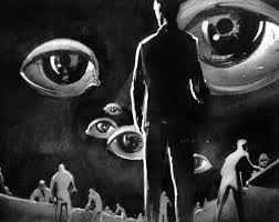 """Salvador Dali designed the scenery for Gregory Peck's symbolic dream sequences in Alfred Hitchcock's 1945 """"Spellbound,"""" a thriller immersed in psychiatric theory that otherwise makes only slightly more sense than most of what Freud wrote."""